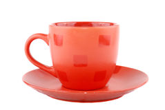 покрашенные чашки multi Стоковая Фотография