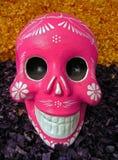 Покрашенные череп/Мехико, Мексика Стоковые Изображения RF