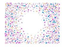 Покрашенные шарики confetti, обои иллюстрация штока