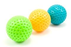 покрашенные шарики golf 3 Стоковые Фото