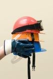 Покрашенные шлемы Стоковые Фотографии RF