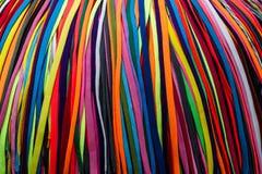 Покрашенные шнурки Стоковое фото RF