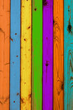 покрашенные доски текстурируют деревянное Стоковое фото RF