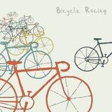 покрашенные bikes Стоковые Фотографии RF