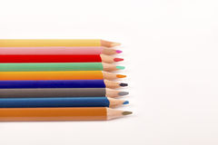 Покрашенные Crayons карандашей Стоковое Изображение