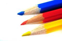 Покрашенные crayons Стоковая Фотография RF