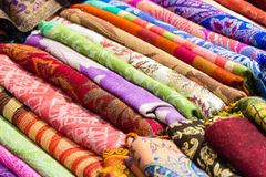 Покрашенные foulards готовые для того чтобы быть надувательством Стоковая Фотография