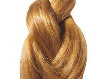 покрашенные gingery волосы Стоковые Фотографии RF