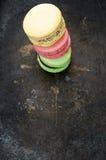 Покрашенные macaroons Стоковое фото RF