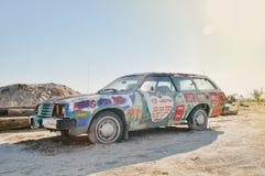 Покрашенный автомобиль Стоковое Изображение
