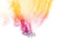 Покрашенный взрыв порошка Стоковые Фотографии RF