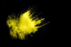Покрашенный взрыв порошка Стоковая Фотография