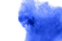 Покрашенный взрыв порошка Стоковые Изображения RF