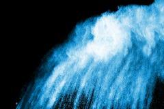 Покрашенный взрыв порошка Стоковое Изображение RF