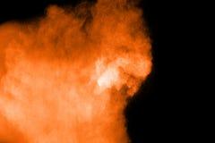 Покрашенный взрыв порошка Стоковые Фото