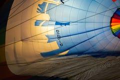 покрашенный воздушный шар горячим Стоковое Изображение RF