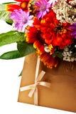 покрашенный габарит цветет золотистое Стоковое Изображение