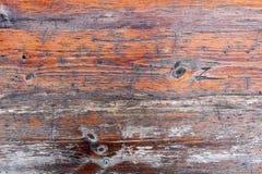 Покрашенный год сбора винограда и выдержал затрапезная деревянная доска древесина текстуры абстрактной предпосылки естественная стоковая фотография