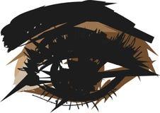 Покрашенный глаз ходов Стоковые Изображения RF