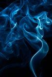 покрашенный изолированный дым белый Стоковое Изображение RF
