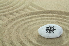 Покрашенный камень Стоковое Изображение RF