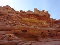 Покрашенный каньон Стоковые Изображения