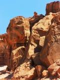 покрашенный каньон Стоковое Изображение RF
