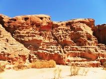 покрашенный каньон Стоковое Фото