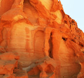 покрашенный каньон Стоковые Фотографии RF