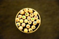 Покрашенный карандаш Стоковое Фото
