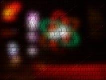 покрашенный кирпич предпосылки Стоковая Фотография RF