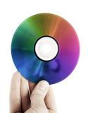 покрашенный компакт-диск Стоковое Фото