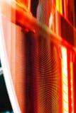 Покрашенный красный экран smd СИД Стоковое фото RF