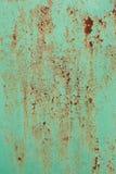 покрашенный металл хриплости заржавел Стоковая Фотография RF