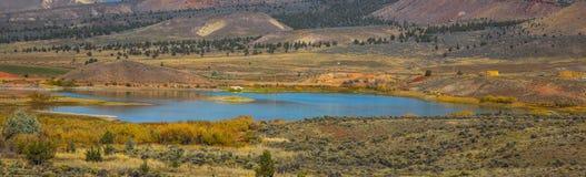 Покрашенный парк холмов, центральный Орегон Стоковые Фото
