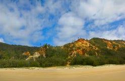 покрашенный песок дюн Стоковые Изображения RF