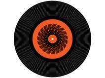 Покрашенный показатель винила музыки Стоковые Фотографии RF
