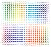 покрашенный предпосылкой вектор радуги Иллюстрация вектора