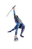 Покрашенный ратник BB147931 Стоковые Изображения
