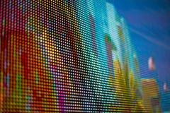 Покрашенный радугой экран smd СИД Стоковые Изображения