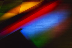 покрашенный свет пола Стоковые Изображения