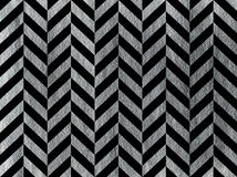 Покрашенный серебр stripes предпосылка, шеврон Стоковое фото RF