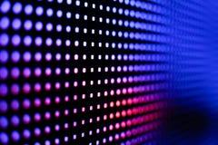 Покрашенный темносиний и красный экран smd СИД Стоковая Фотография RF