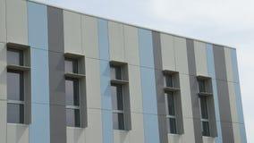 Покрашенный фасад Bulding Стоковое Изображение RF