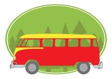 Покрашенный фургон Стоковое Изображение