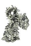 2 покрашенный шарф mohair Стоковые Изображения RF