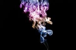 покрашенный дым Стоковая Фотография