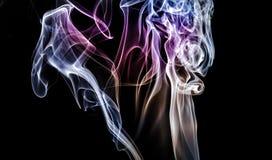 покрашенный дым Стоковое Фото