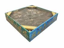Покрашенный ящик с песком Стоковое фото RF