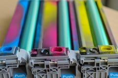Покрашенный fuser лазерных принтеров стоковое изображение